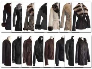 куртки, кожа